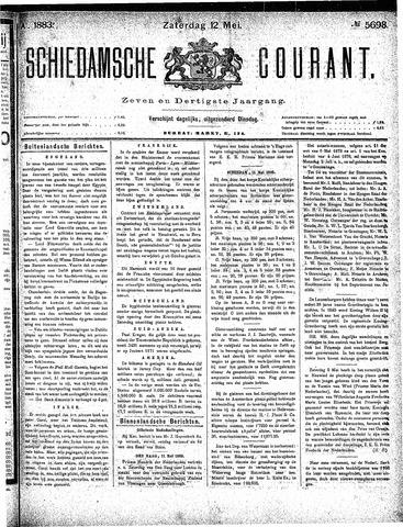 Schiedamsche Courant 1883-05-12