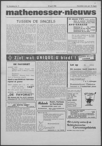 Mathenesser Nieuws 1964-04-23