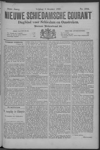 Nieuwe Schiedamsche Courant 1897-10-08