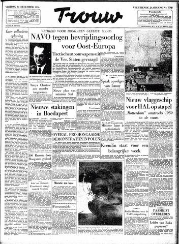Trouw / De Rotterdammer 1956-12-14
