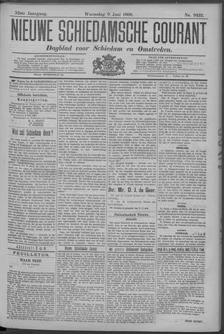 Nieuwe Schiedamsche Courant 1909-06-09