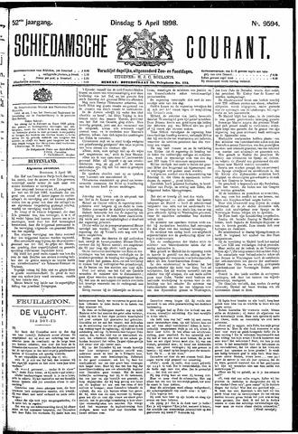 Schiedamsche Courant 1898-04-05