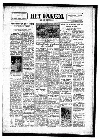 Rotterdamsch Parool / De Schiedammer 1946-08-09