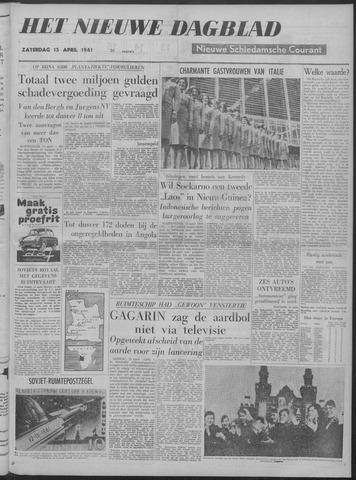 Nieuwe Schiedamsche Courant 1961-04-15