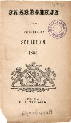 Schiedams Jaarboek 1853-01-01