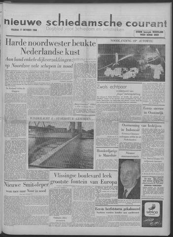 Nieuwe Schiedamsche Courant 1958-10-17