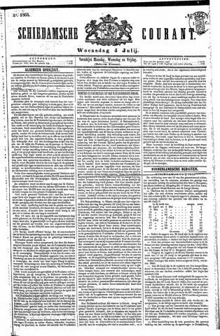 Schiedamsche Courant 1866-07-04