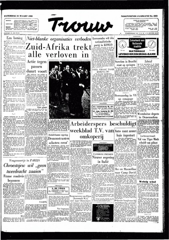 Trouw / De Rotterdammer 1960-03-26