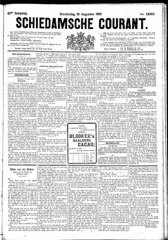 Schiedamsche Courant 1910-08-18