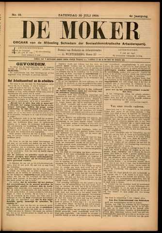 De Moker 1904-07-30