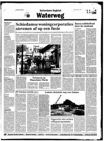 Rotterdamsch Nieuwsblad / Schiedamsche Courant / Rotterdams Dagblad / Waterweg / Algemeen Dagblad 1998-06-04