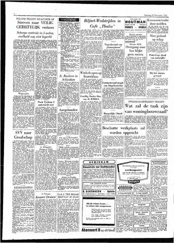 Rotterdamsch Parool / De Schiedammer 1955-11-19