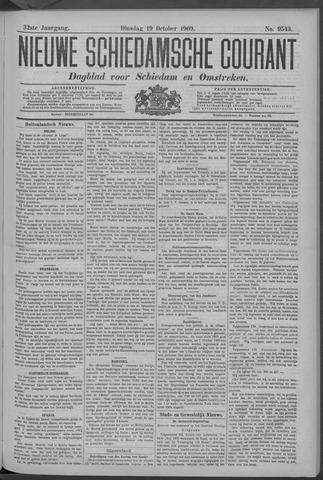 Nieuwe Schiedamsche Courant 1909-10-19