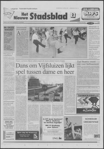 Het Nieuwe Stadsblad 2001-04-19