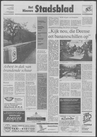 Het Nieuwe Stadsblad 1992-04-24