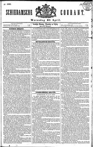 Schiedamsche Courant 1866-04-25