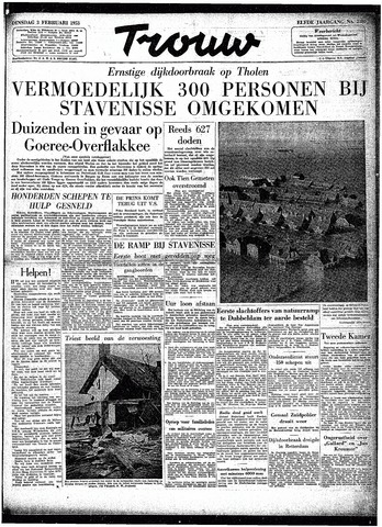 Trouw / De Rotterdammer 1953-02-03