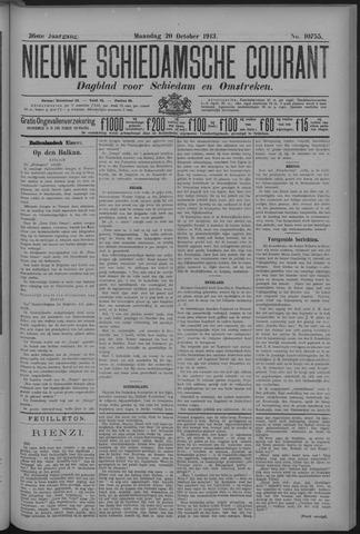 Nieuwe Schiedamsche Courant 1913-10-20