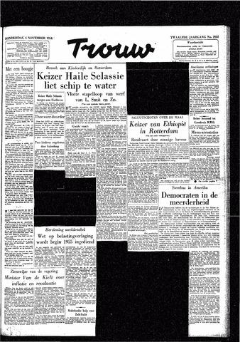 Trouw / De Rotterdammer 1954-11-04