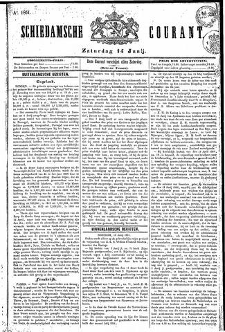 Schiedamsche Courant 1851-06-14