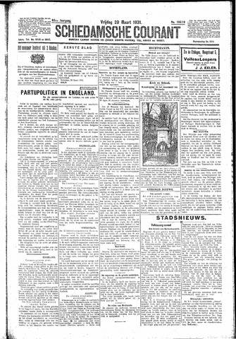 Schiedamsche Courant 1931-03-20