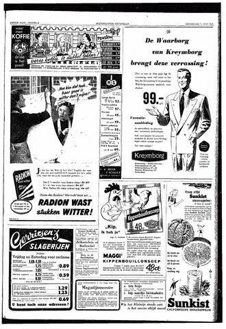 Rotterdamsch Nieuwsblad / Schiedamsche Courant / Rotterdams Dagblad / Waterweg / Algemeen Dagblad 1953-06-18