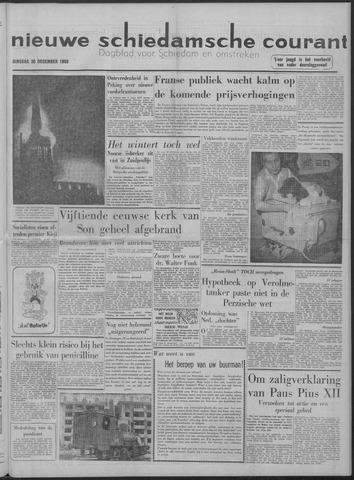 Nieuwe Schiedamsche Courant 1958-12-30