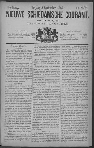Nieuwe Schiedamsche Courant 1886-09-03