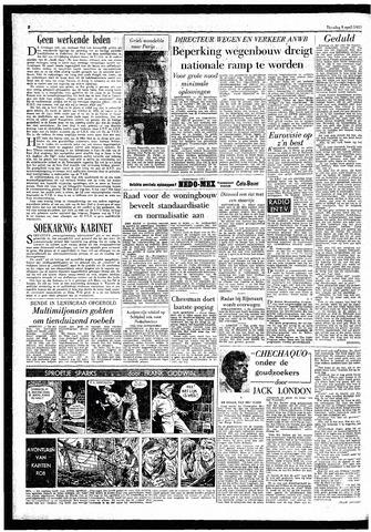 Rotterdamsch Parool / De Schiedammer 1957-04-09