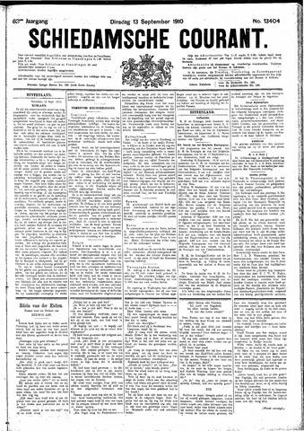 Schiedamsche Courant 1910-09-13