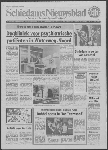 Schiedams Nieuwsblad 1985-02-20