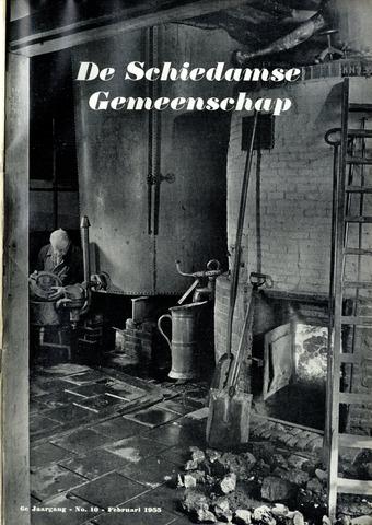 Schiedamse Gemeenschap (tijdschrift) 1955