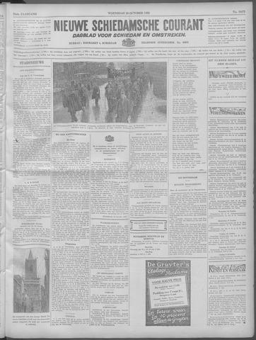 Nieuwe Schiedamsche Courant 1932-10-26