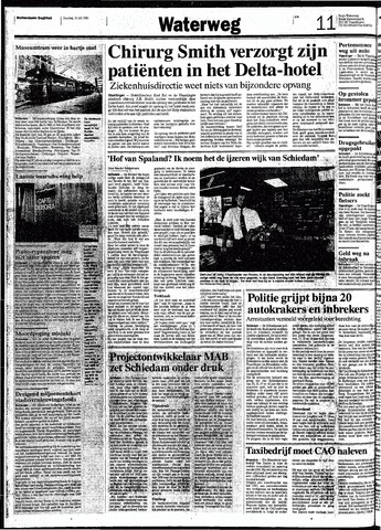 Rotterdamsch Nieuwsblad / Schiedamsche Courant / Rotterdams Dagblad / Waterweg / Algemeen Dagblad 1991-07-16