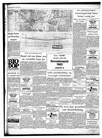 Rotterdamsch Parool / De Schiedammer 1962-06-14