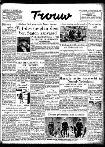 Trouw / De Rotterdammer 1954-03-10