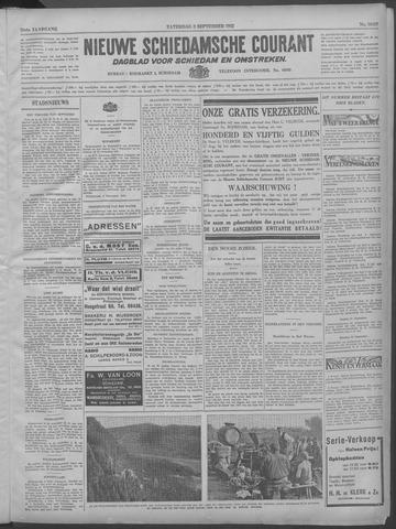 Nieuwe Schiedamsche Courant 1932-09-03