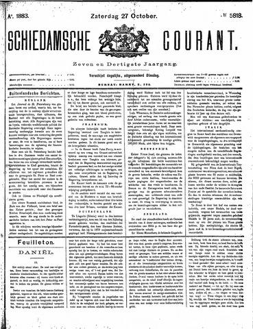 Schiedamsche Courant 1883-10-27