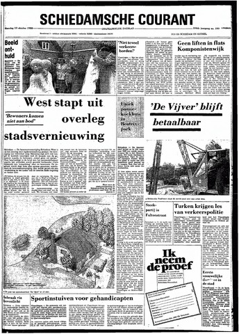 Rotterdamsch Nieuwsblad / Schiedamsche Courant / Rotterdams Dagblad / Waterweg / Algemeen Dagblad 1980-10-13