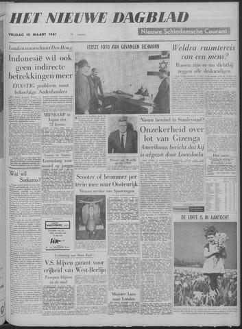 Nieuwe Schiedamsche Courant 1961-03-10