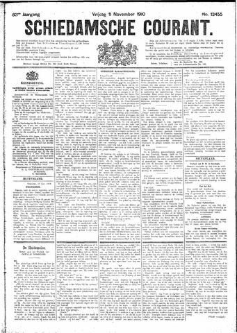 Schiedamsche Courant 1910-11-11