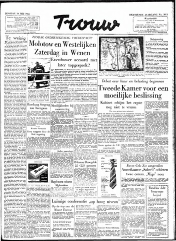 Trouw / De Rotterdammer 1955-05-10