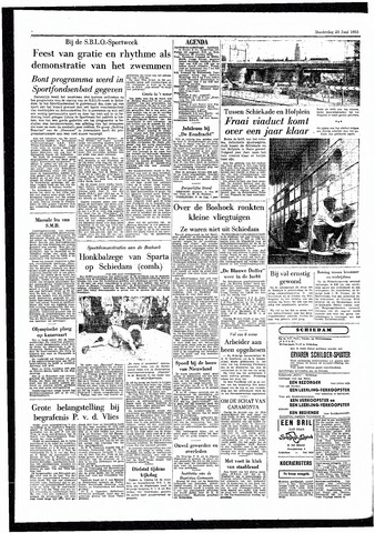 Rotterdamsch Parool / De Schiedammer 1955-06-23