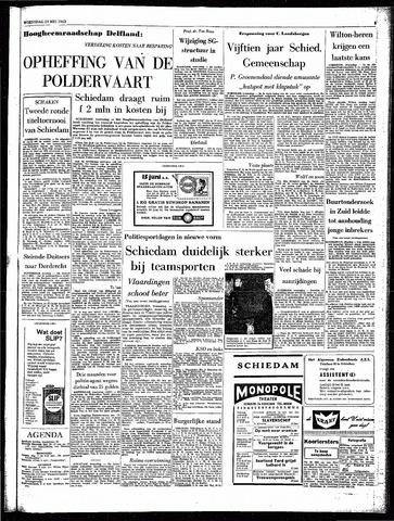 Rotterdamsch Parool / De Schiedammer 1963-05-29