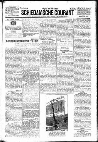 Schiedamsche Courant 1931-06-12
