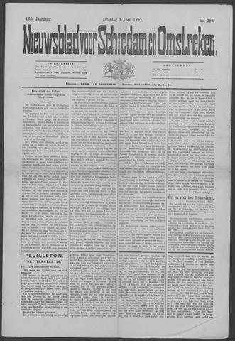 Nieuwsblad voor Schiedam en Omstreken 1892-04-09
