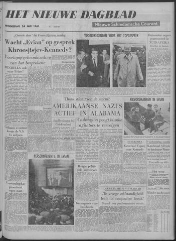 Nieuwe Schiedamsche Courant 1961-05-24