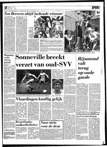 Rotterdamsch Nieuwsblad / Schiedamsche Courant / Rotterdams Dagblad / Waterweg / Algemeen Dagblad 1988