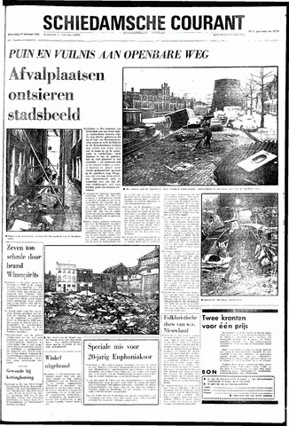 Rotterdamsch Nieuwsblad / Schiedamsche Courant / Rotterdams Dagblad / Waterweg / Algemeen Dagblad 1970-02-11