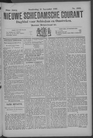 Nieuwe Schiedamsche Courant 1897-11-11
